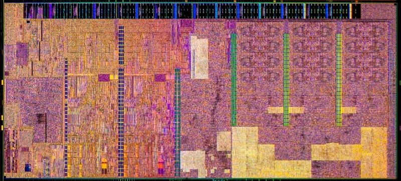 Intelが公開したCore Mのダイ写真