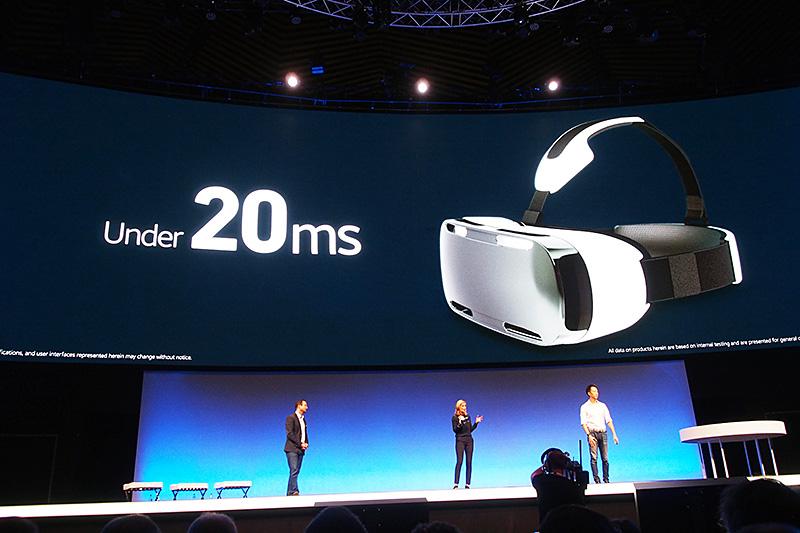 レイテンシは20ms以下。使用者の頭部の動きや方向にすぐに反応する