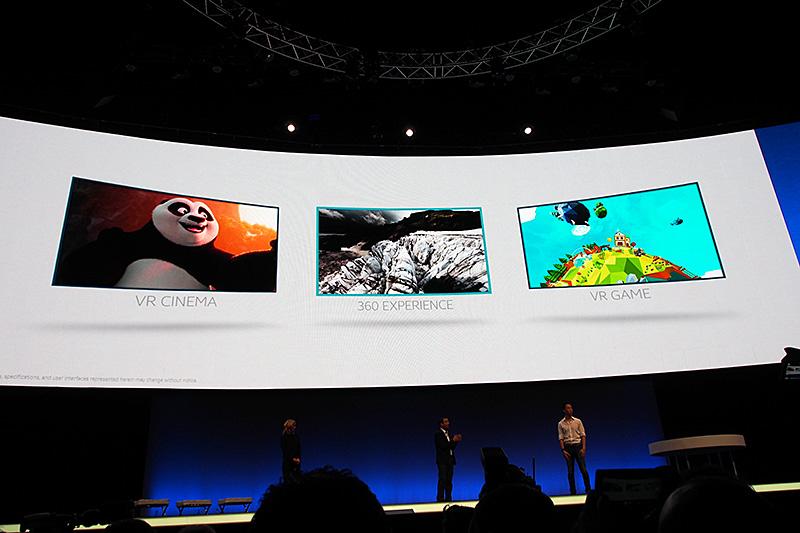 VRシネマやネイチャーを中心とした360度映像、VRに対応するゲームなどを利用途とする
