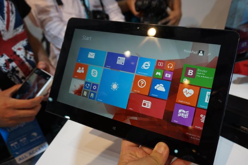 Lenovoが発表した新しいThinkPad Helix。Core M 5Y70を搭載していた