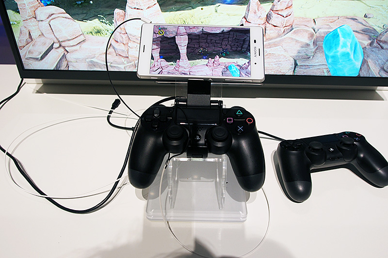 Xperia Z3シリーズから利用可能になるXperiaを使ったPS4のリモートプレイ
