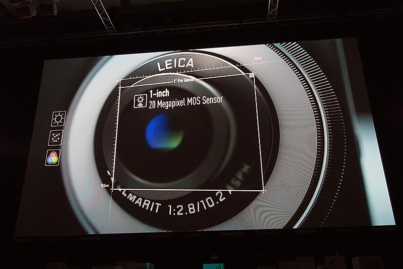 2,000万画素の1型イメージセンサーを搭載する