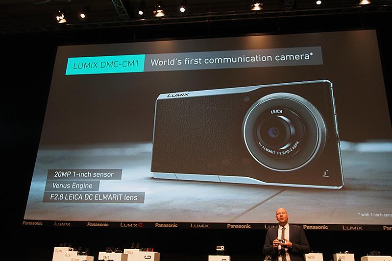 世界初の「Communication Camera」と紹介された
