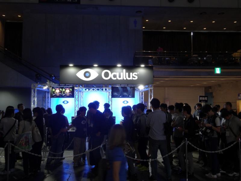 Oculus VRのブース