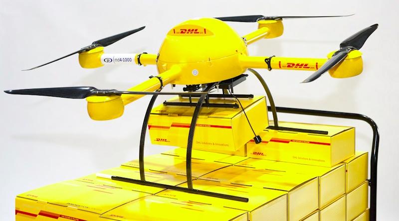 研究プロジェクトで開発された「Paketcopter」