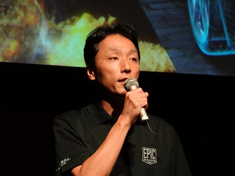 エピック・ゲームズ・ジャパン代表の川﨑高之氏