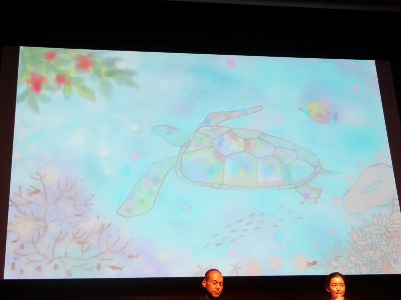 八木さんが実際に旅行にSHIELDを持って行って描いたイラスト