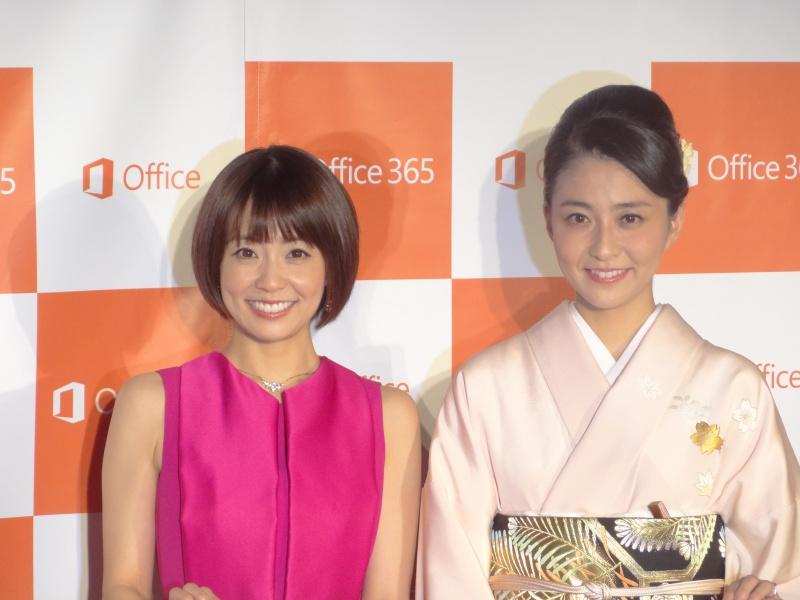 公式の場での共演は久しぶりと言うことで、特に姉の麻耶さんは終始興奮気味だった