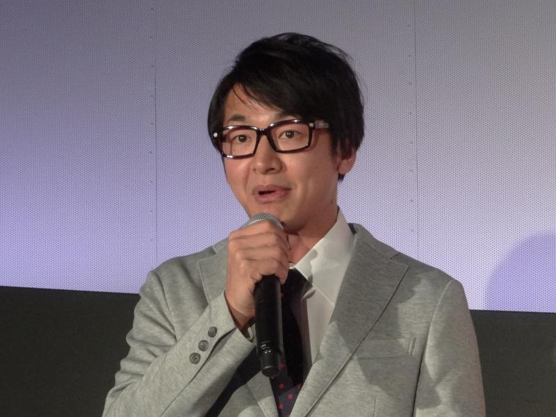 MC役のハマカーン神田伸一郎氏