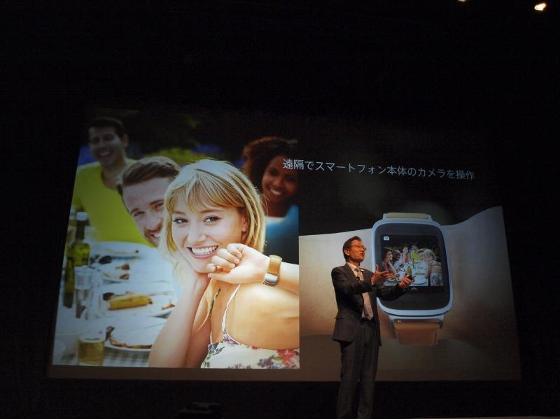 リモートでスマートフォン本体のカメラを操作。カメラのライブビューとして使える