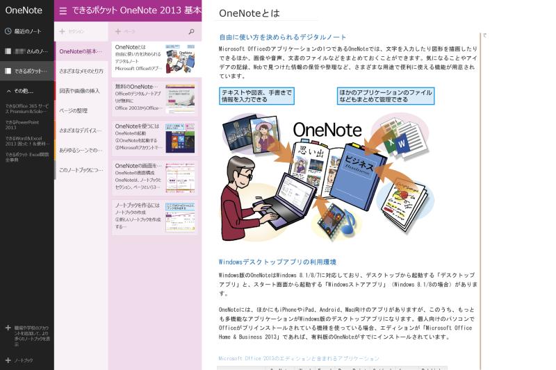 Windowsストアアプリ版での表示例