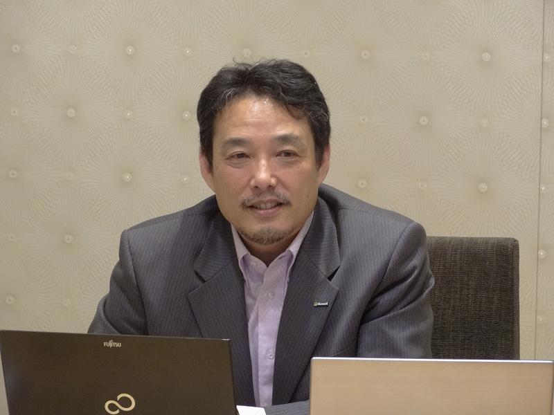 日本マイクロソフトの宗像淳氏
