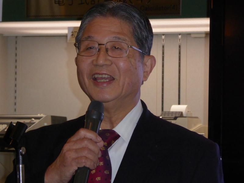 東京理科大学学長 藤嶋昭氏