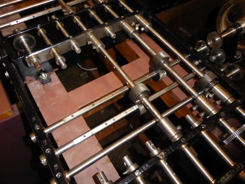 解く式を変える場合はここの歯車部分を組み替える