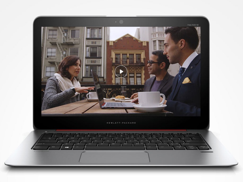 HP EliteBook Folio 1020 G1 Special Edition(写真は英語版キーボード)