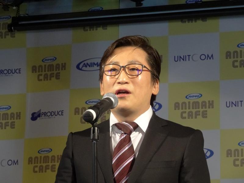 ユニットコムの高島勇二氏。「若者を支援して盛り上げていきたい」