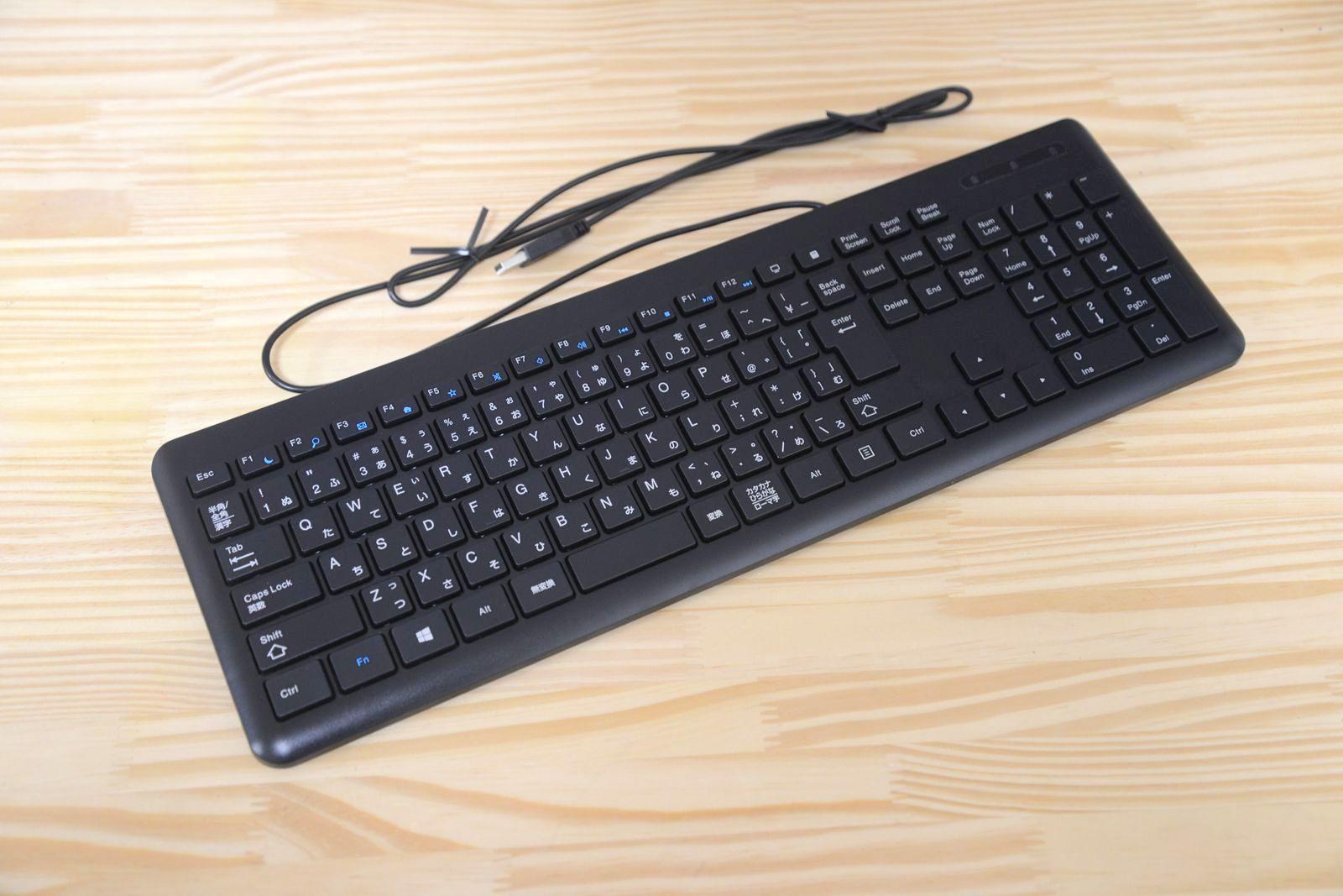 これぞ低価格キーボードの決定版、LITEONのUCL111UBK1/USB。キーストロークは浅く、タッチは軽い。キーボード選びで迷ったらこれを選んでおき、じっくり自分好みを探すという手もある