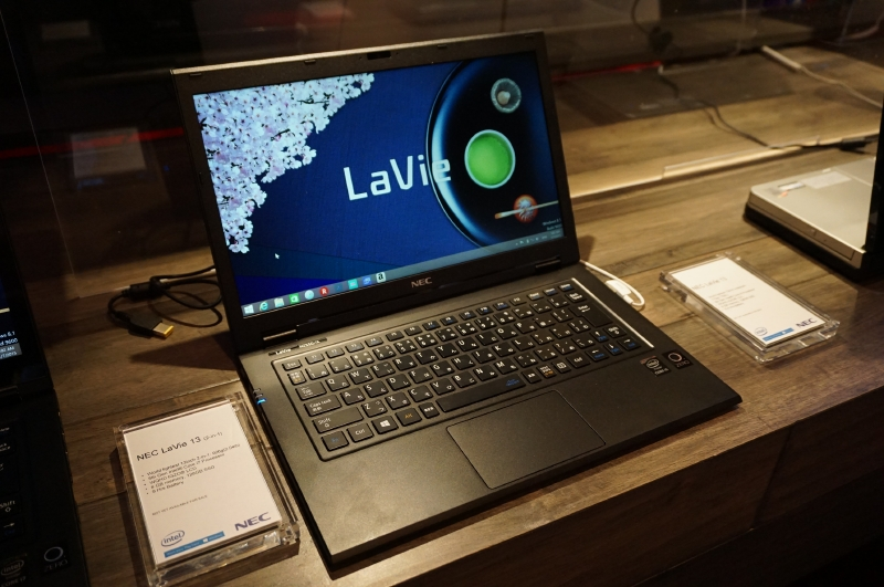 LaVie Zのノンタッチモデル(HZ550)