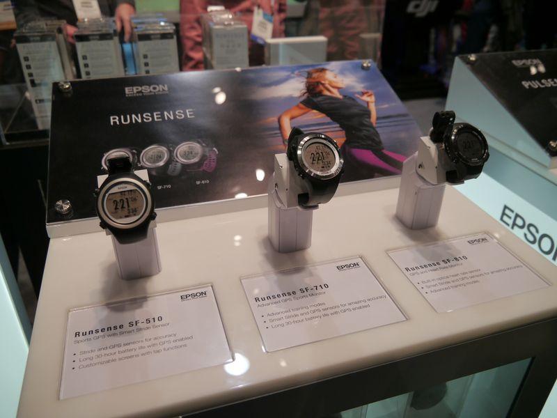 Wristable GPS製品群。米国ではRUNSENSEのブランドで展開する