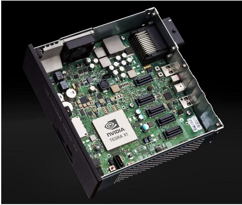 NVIDIAが車載向けにリリースしたTegra X1ベースのDrive CXコンピュータモジュール