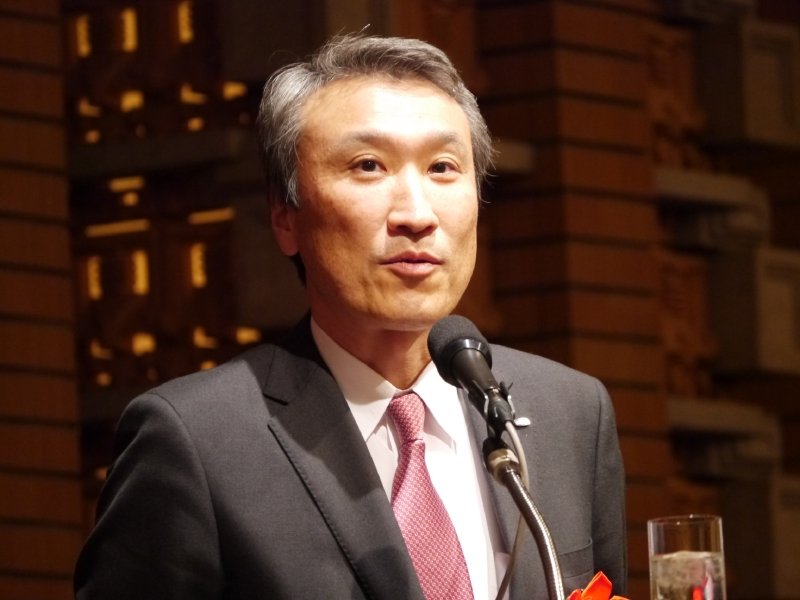 富士通 執行役員 パーソナルビジネス本部長の竹田弘康氏
