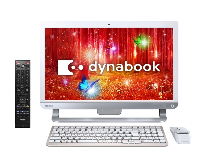 「dynabook D71」(モデル名:D71/PW、リュクスホワイト)