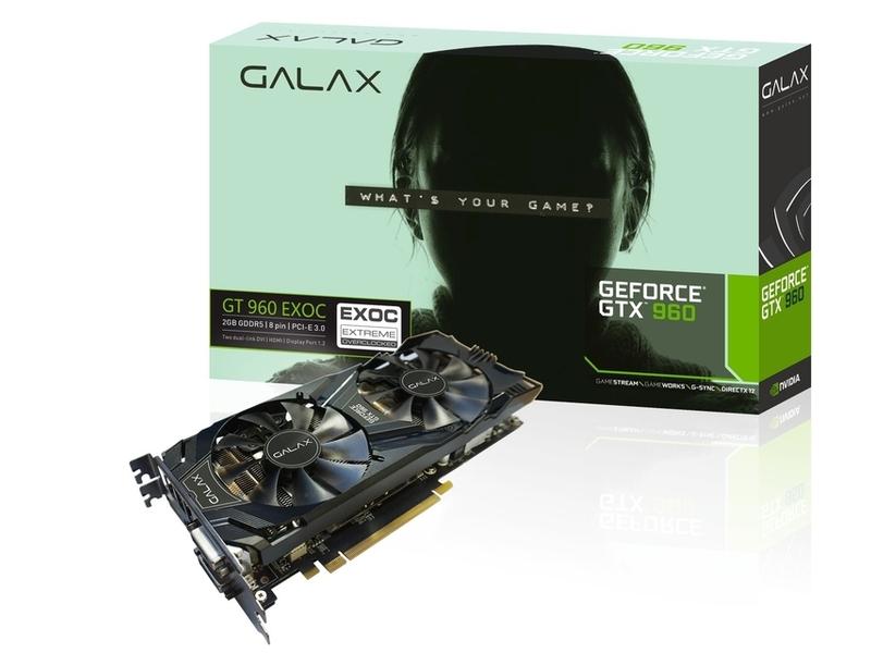 Galax「GF PGTX960-EXOC/2GD5」