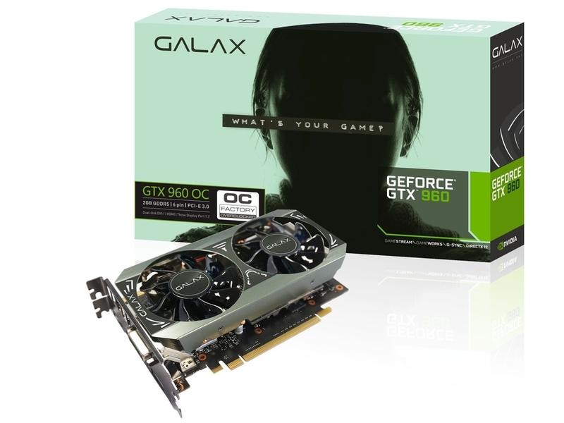 Galax「GF PGTX960-OC/2GD5 MINI」