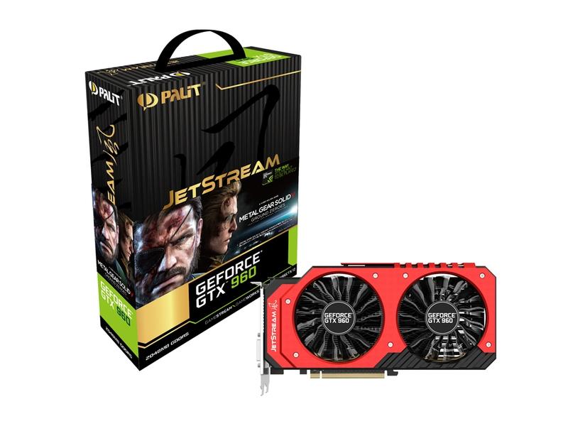 Palit「Palit GeForce GTX960 SuperJetstreamモデル」
