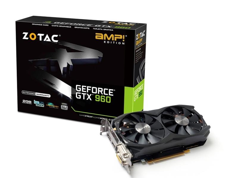 ZOTAC「ZOTAC GeForce GTX 960 AMP Edition」