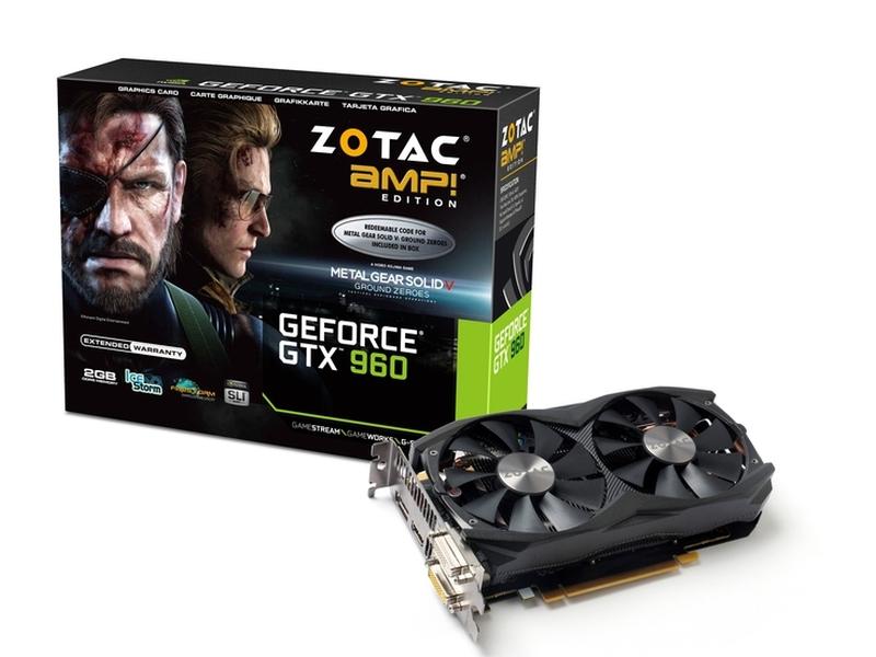 ZOTAC「ZOTAC GeForce GTX 960 AMP Edition METAL GEAR SOLID V」