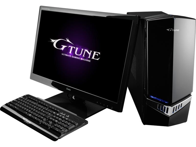 マウスコンピューター「G-Tune NEXTGEAR」(※ディスプレイ別売り)