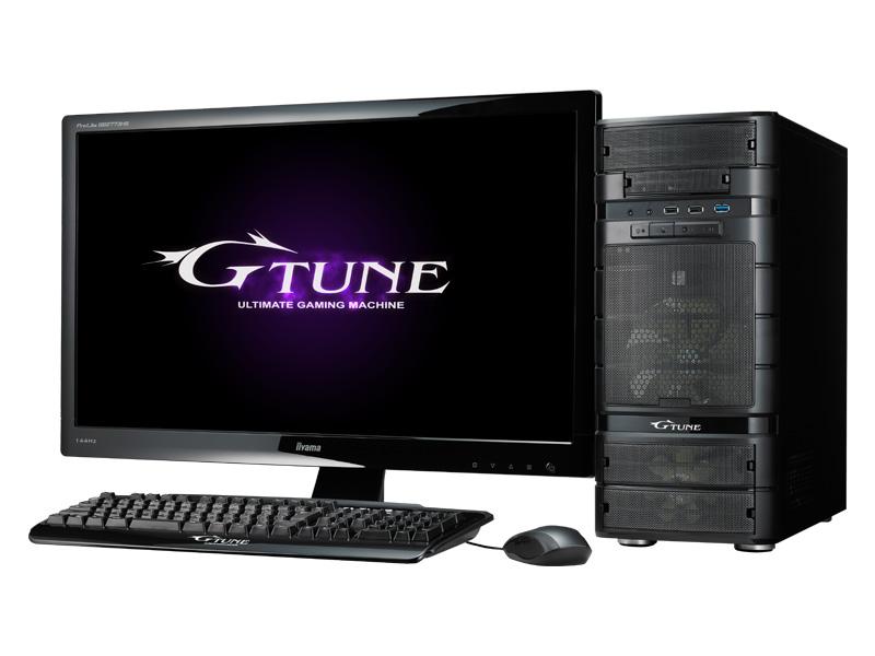 マウスコンピューター「G-Tune NEXTGEAR-MICRO」(※ディスプレイ別売り)
