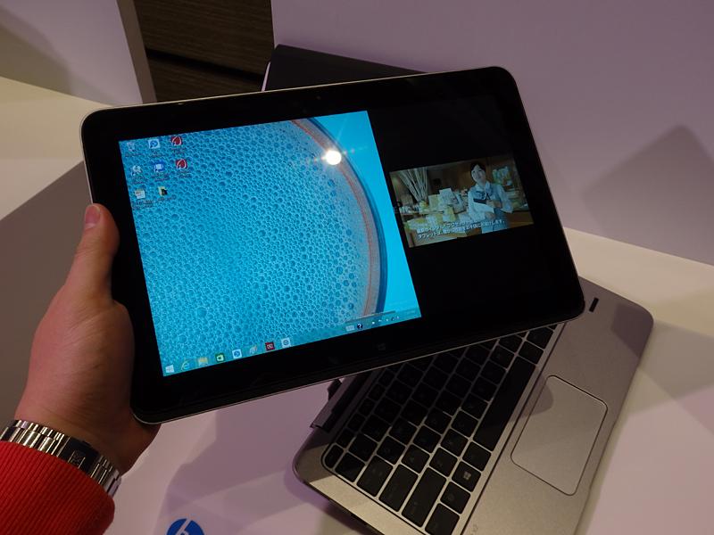 パワーキーボードから取り外せば純粋なタブレットとして利用可能