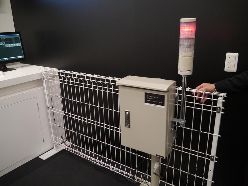 センサーと画像解析技術による警備監視を行なう不正侵入検知システム