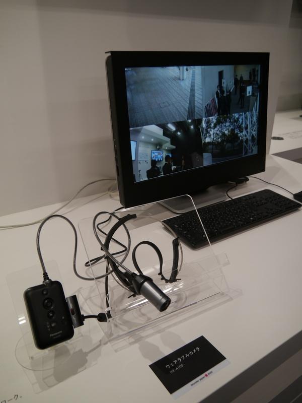 ウェアラブルカメラを利用してさまざまな場所を管理することも可能