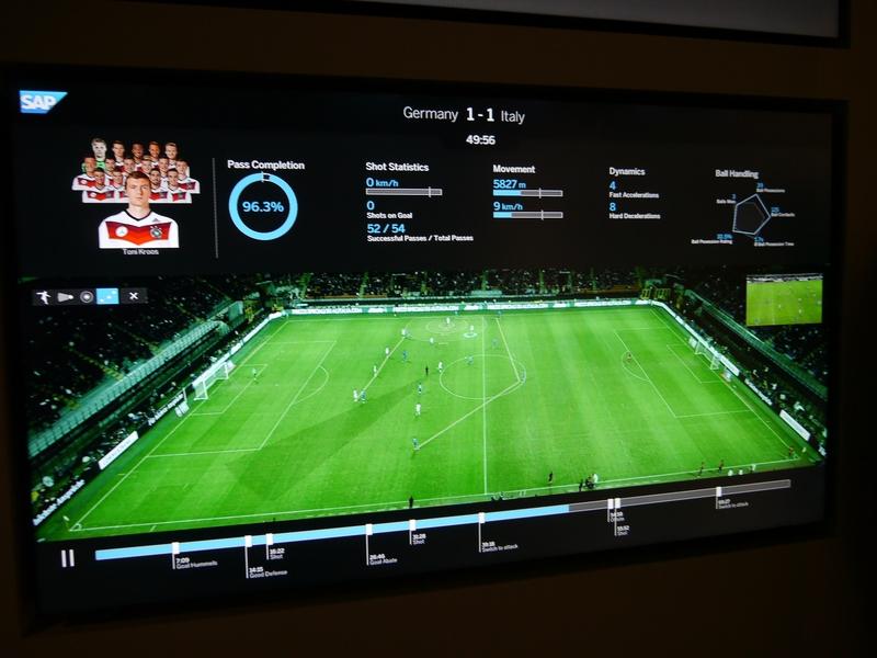 専用カメラで選手全員を撮影。画像認識技術でチームの動きを解析する