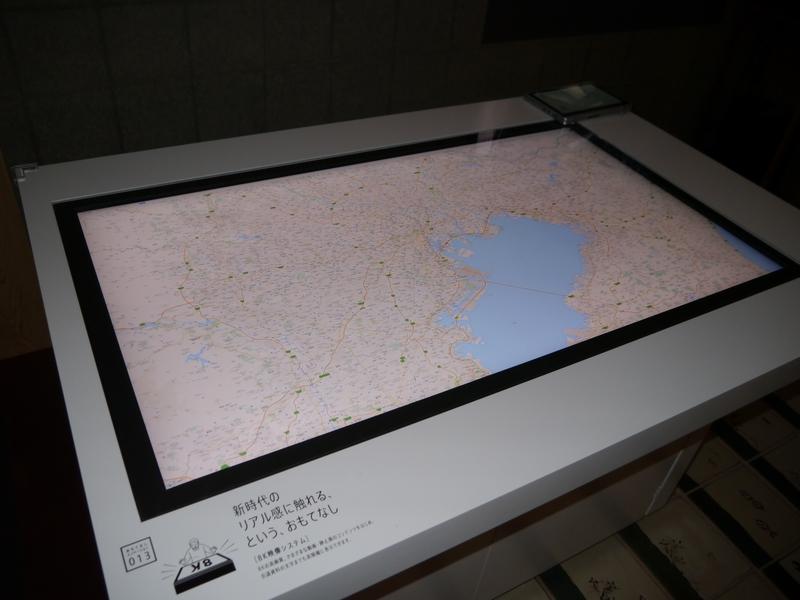 CESのパナソニックブースで展示していた8Kディスプレイもデモストレーション