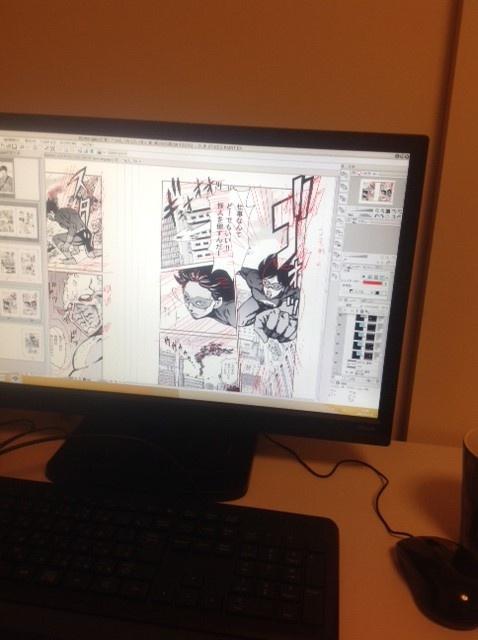 セルシス認定CLIP STUDIO PAINT推奨PCでの作業風景