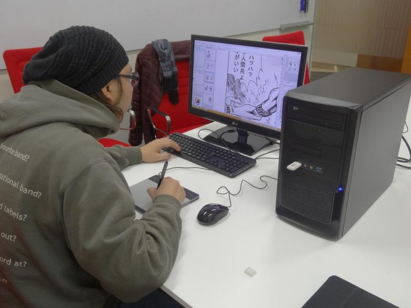 最後の仕上げと確認は、PC Watch編集部にて、スタンダードAモデルで作業していただいた