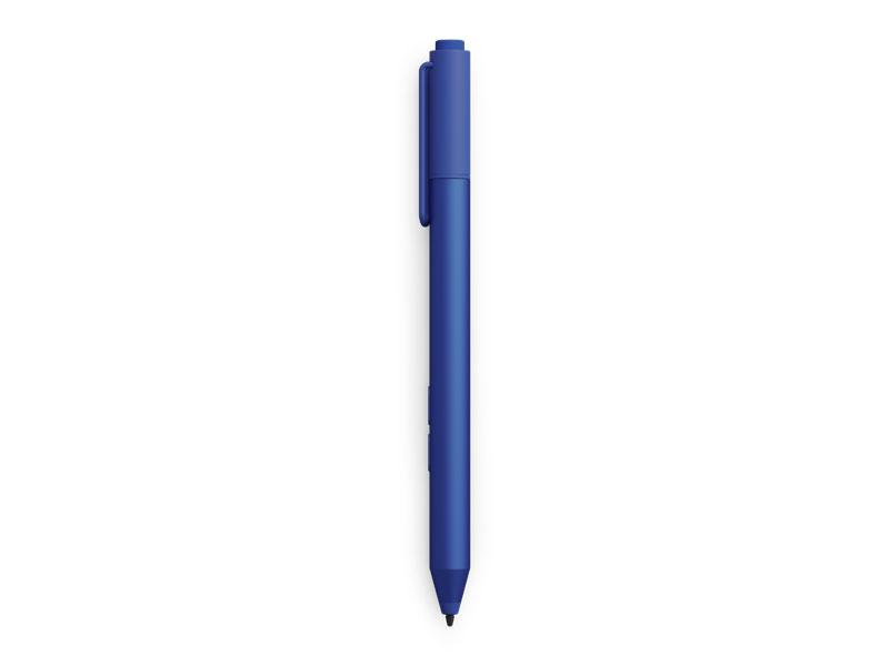Surface Pro 3用と同じデジタイザペンが利用できるが、青、赤、黒がカラーバリエーションとして追加されている