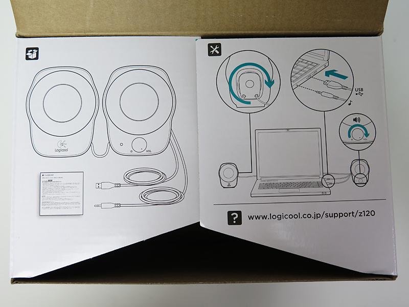 説明が箱の耳にイラストで描かれている