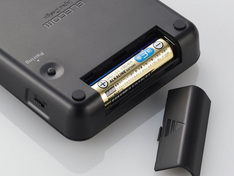 単3電池1本で動作する
