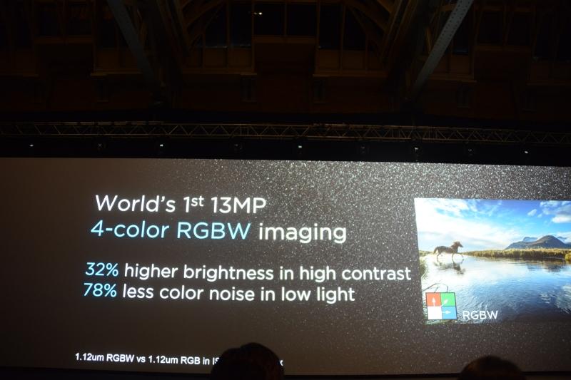 撮像素子にRGBWの4色配列を採用