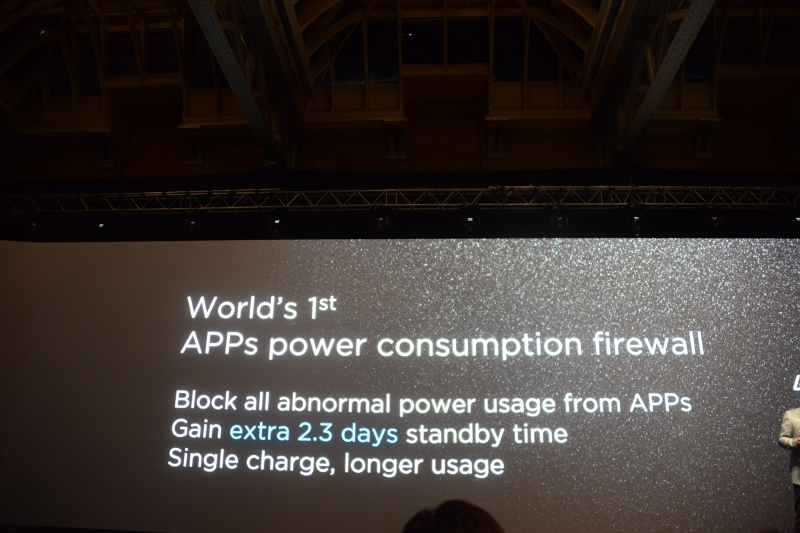 世界初とするApps電力消費ファイアウォールで画期的な省電力を実現