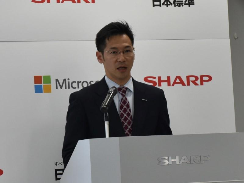 日本マイクロソフト株式会社 業務執行役員 パブリックセクター統括本部 文教本部長 中川哲氏。日本マイクロソフトは以前からICTの活用提案を行なっている