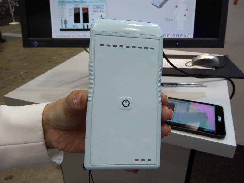 センサー端末は日本電波工業株式会社との共同研究開発