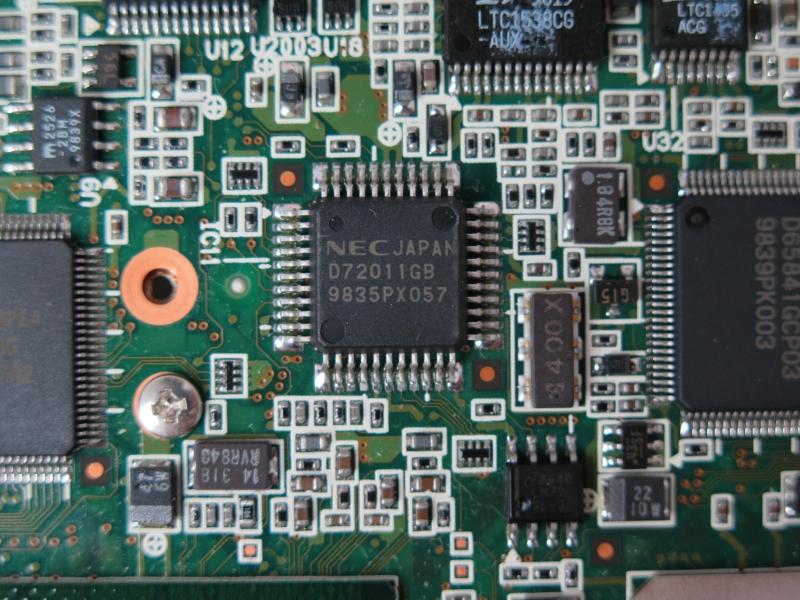 NEC製のUSB Hubチップ「μPD72011」