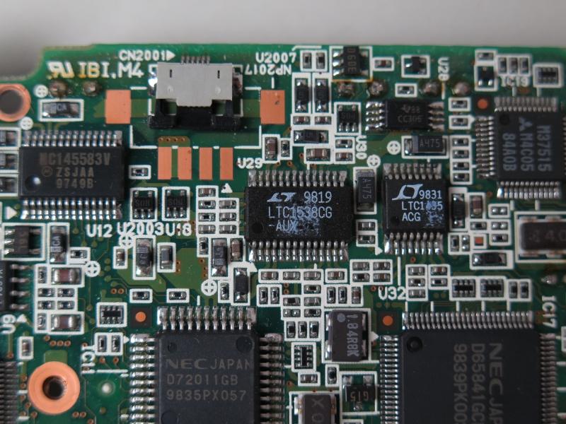 Linear Technology製のステップダウンスイッチングレギュレータ「LTC1538」と「LTC1435」