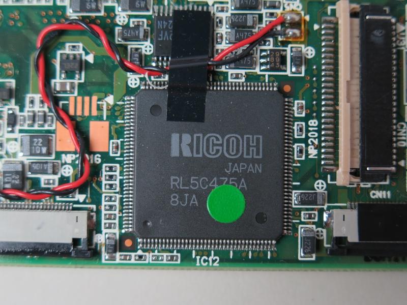 リコー製のCardBusコントローラ「RL5C475A」